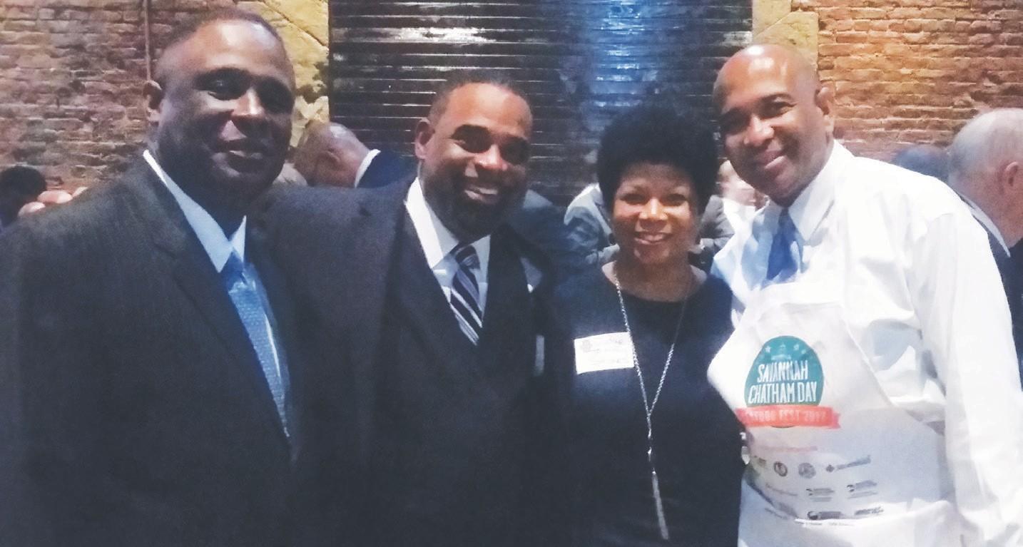 Michael Kaigler, Ronald McGee, Judge Tammy Stokes, Sen. Lester Jackson