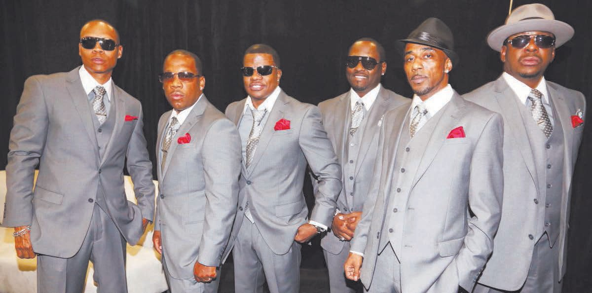 New Edition reunites for the 2017 BET Awards.