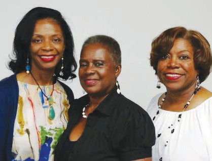 Dr. Ann Linton, Estelle Mannion, and Angelia Dorsey