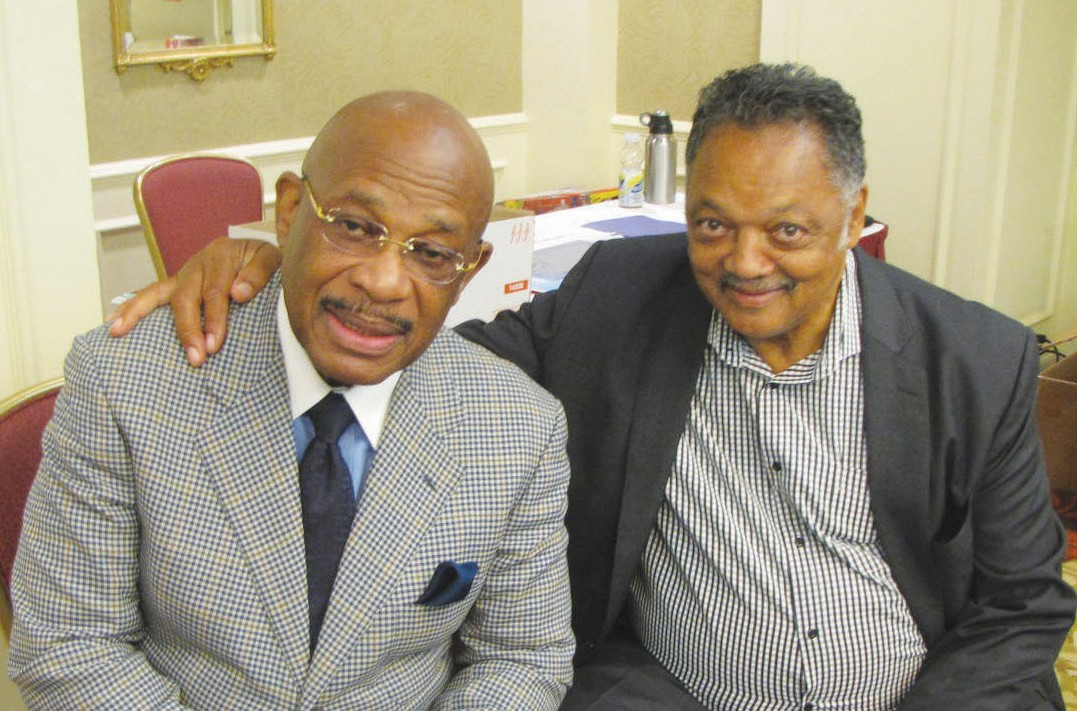 AttorneyWillie Gary and Rev. Jesse Jackson, Sr.