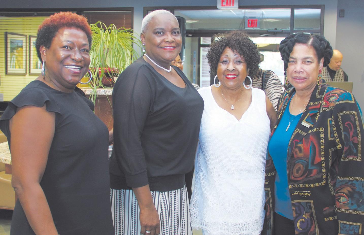 L-R: Tribune General Manager Tanya Milton, Dr. Deborah Cole, Former Savannah Mayor Edna Jackson, and Dr. Jacqualyn F. Green.