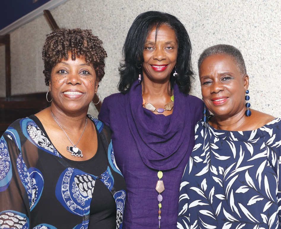 Angelia Dorsey, Dr. Ann Linton, Estelle Mannion