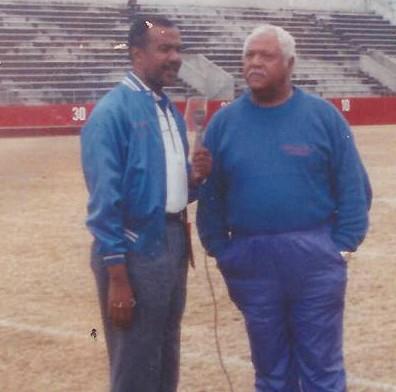 Don Wilson interviews Coach Bill Davis