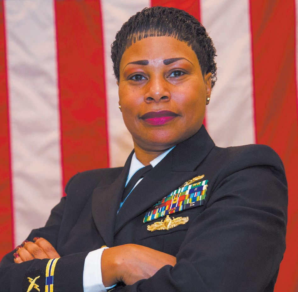Chief Warrant Officer (CWO) 5 Valencia Simmons-Fowler