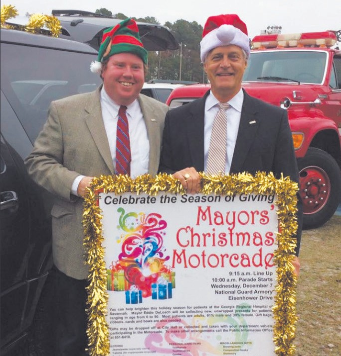 Mayor Eddie DeLoach and Martin Sullivan