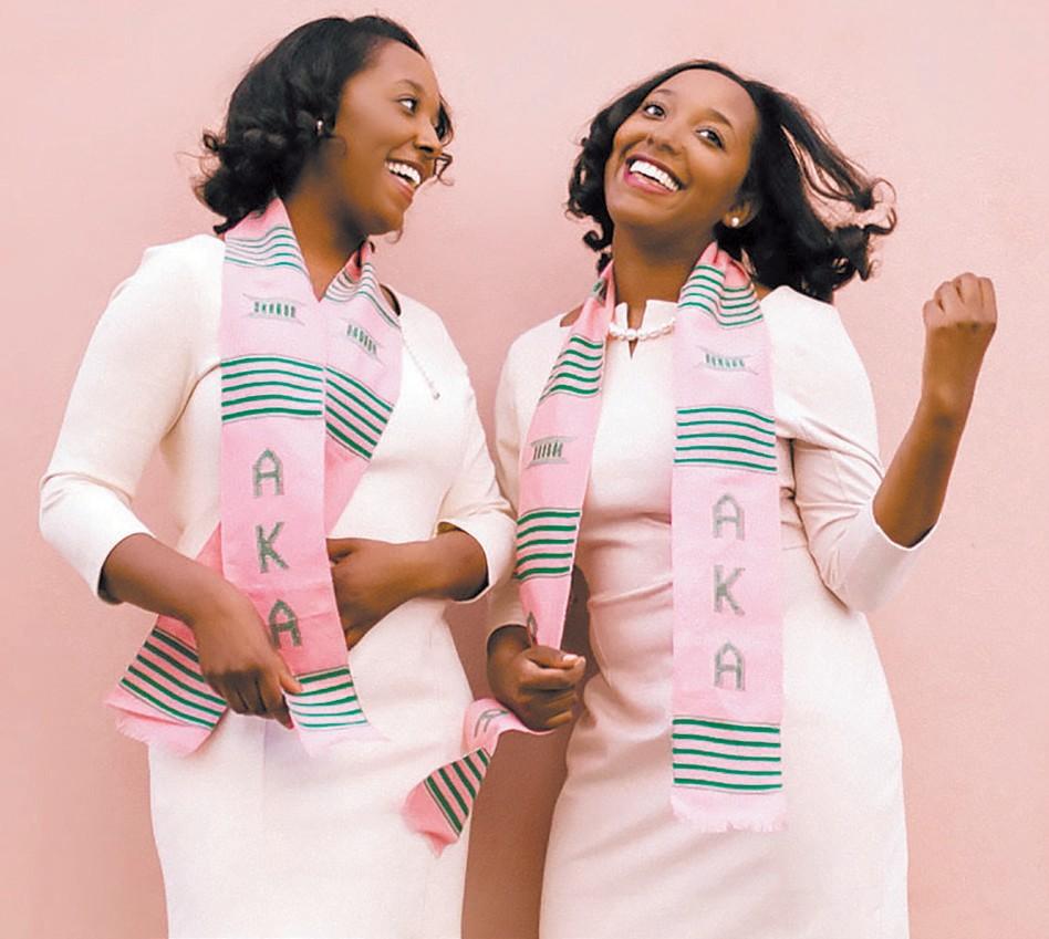 Sisters Kristan and Kyndal Jones