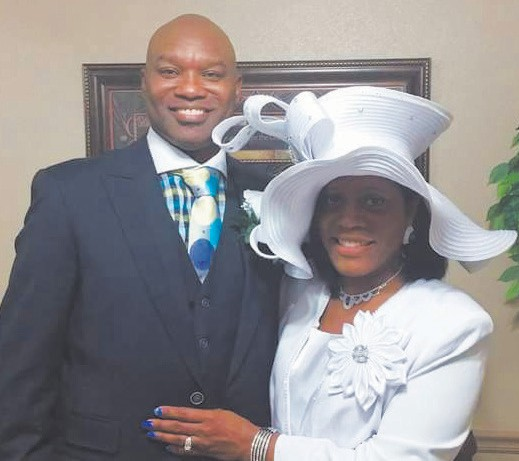Rev. and Mrs. Terrance L. Burrell