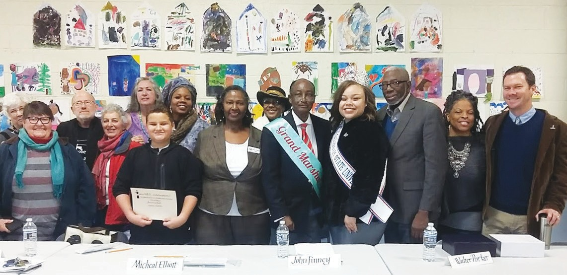 Honorees and participants of the Tybee MLK Celebration