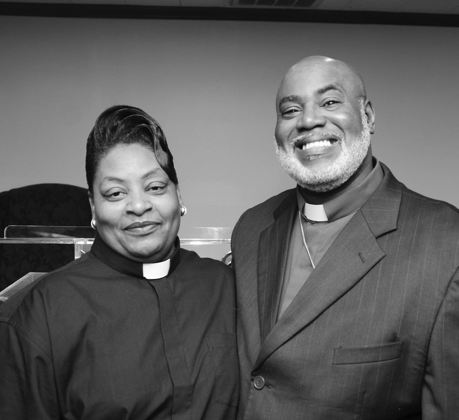 Pastor Alvin Edwards and First Lady Edwards