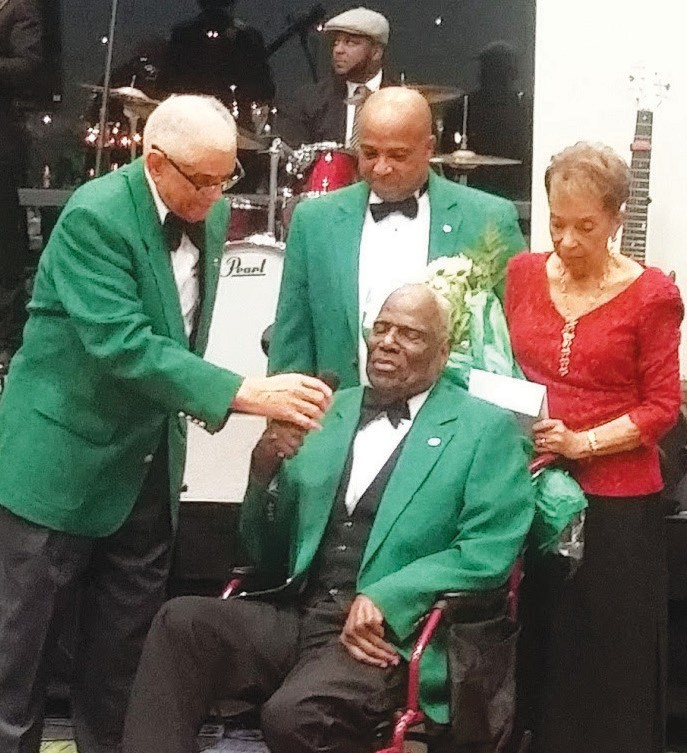 Frog Club, Inc. Recognizes Emeritus Member Raleigh Bryant, Jr. and wife