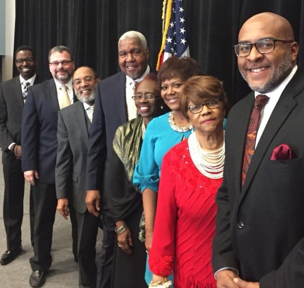 MLK Annual Business & Community Unity Brunch Program Participants. WSAV's Kim Gusby served as Mistress of Ceremony