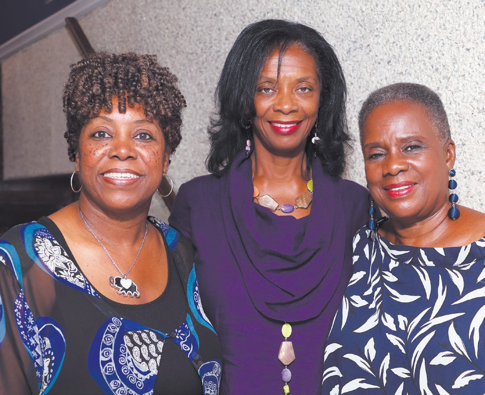 Angela Dorsey, Dr. Ann Linton and Estelle Mannion