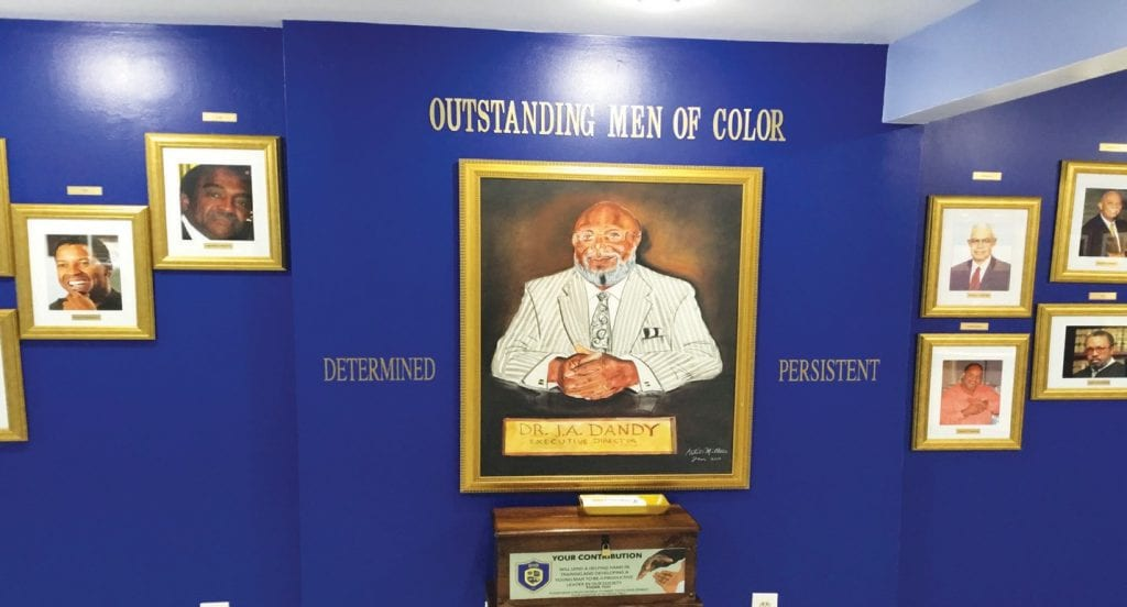 Outstanding Men of Color Wall