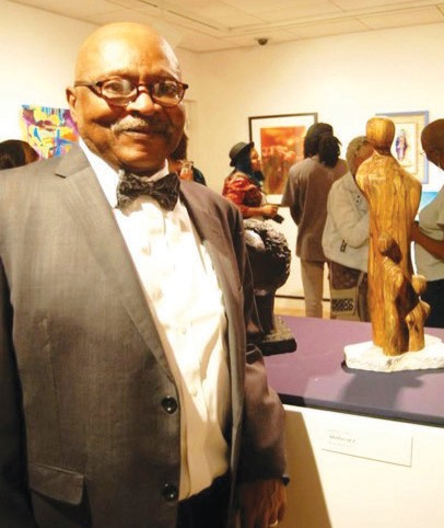 FAAA Member and Sculptor, Ed Jones