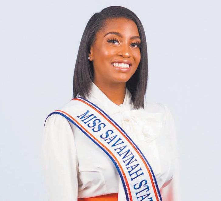 Miss SSU Aliyah Davis