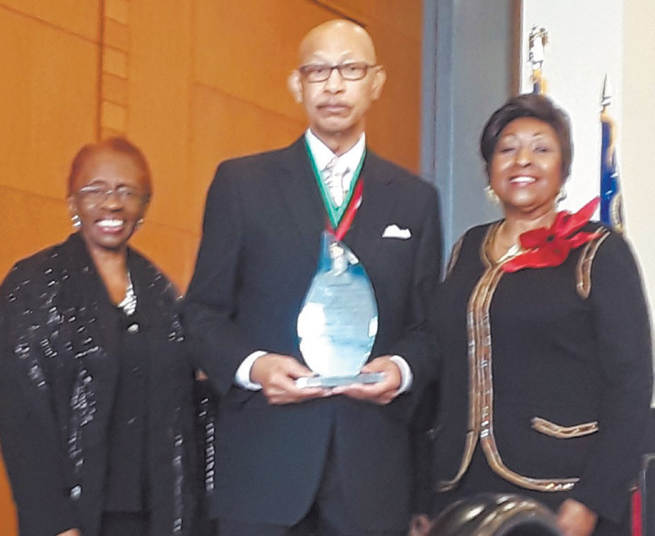 L-R: Carolyn Blackshear, Dr. Otis Johnson, and Mayor Edna Jackson