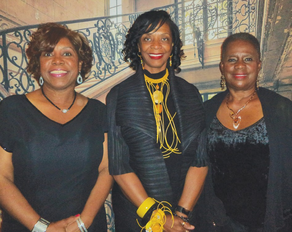 Angela Dorsey, Dr. Ann Linton and Estelle Mannion