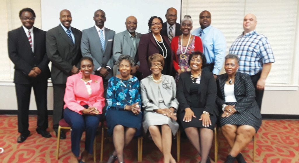 EOA Executive Director Tom McBeth along with Board Members & Guests