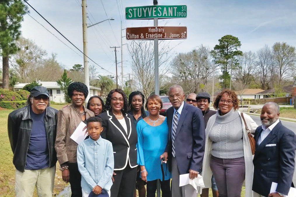 Family and friends of Clifton and Ernestine J. Jones