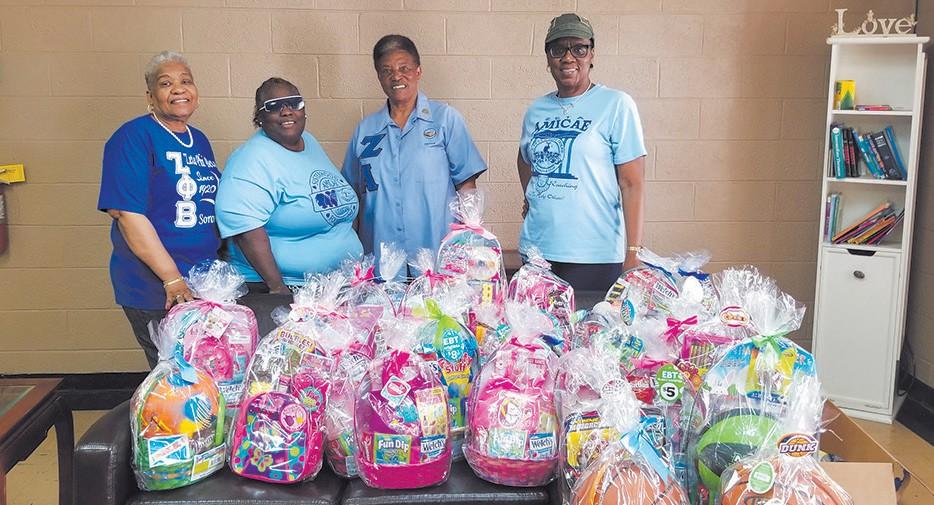 Easter baskets for Greenbriar Children's Center