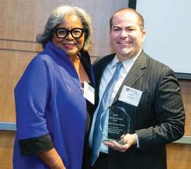 Gwendolyn S. Fortson Waring receives award