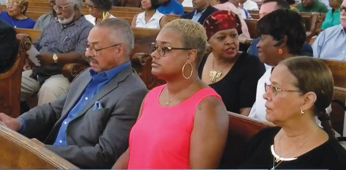 Former SSU President Carlton Brown was in attendance and offered comments