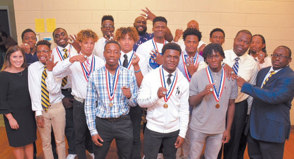 State Champions at Ring Ceremony