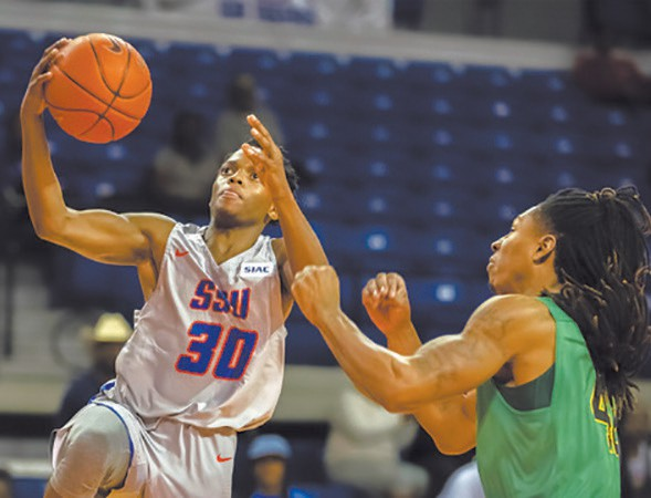 Marcus Scott was named the SIAC Newcomer of the Week. [Photo courtesy Savannah State Athletics]
