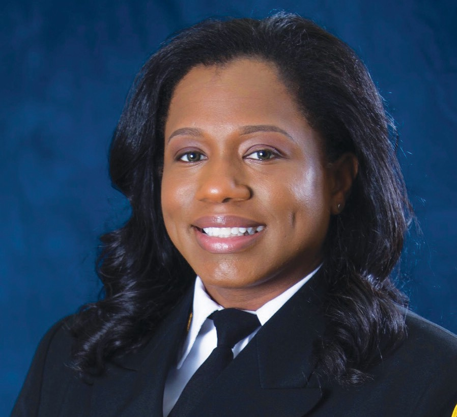 Chief Fire Marshal Whitney Williams-Smith