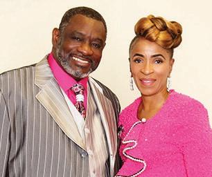 Bishop Larry B. Aiken and Pastor Olivia C.Q. Aiken