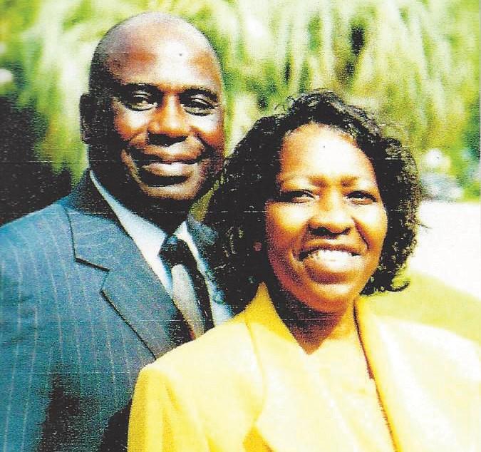 Bishop and Mrs. Willie Ferrell