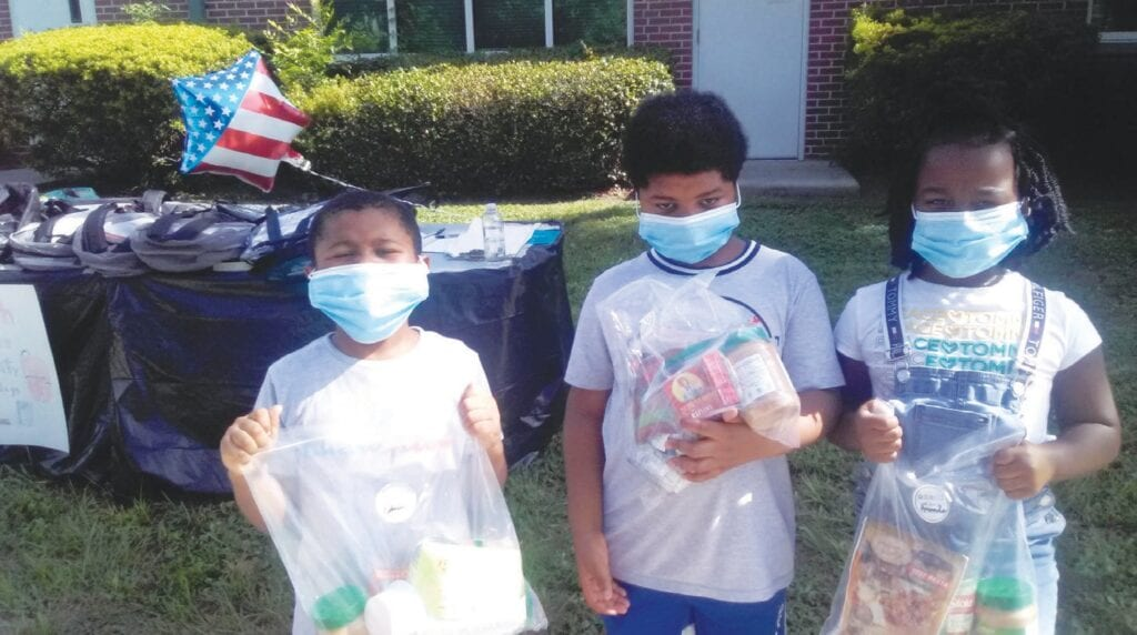 West Savannah students receive back to school supplies and more.