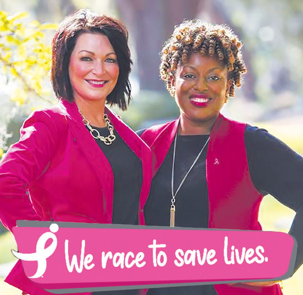 L-R: Margie Singleton and Chante Frazier