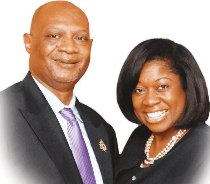 Bishop Reginald Jackson and wife Christy Jackson