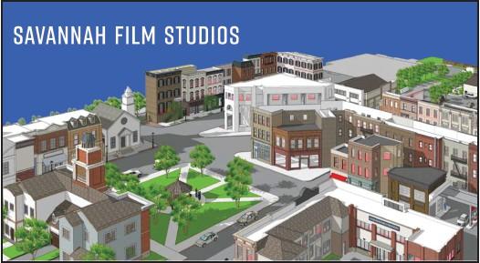 Savannah Film Studios Backlot