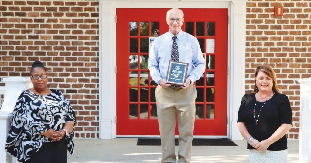 Bethesda Academy President Dr. Michael Hughes & Academy Leadership Team Receive Betty B. Disher Educational Innovator Award